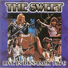 SWEET Live In Denmark 1976 album cover