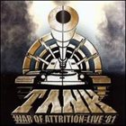 TANK War of Attrition album cover