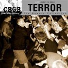 TERROR Live at CBGB album cover