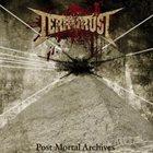 TERRORUST Post Mortal Archives album cover