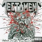 TESTAMENT Return to the Apocalyptic City album cover