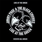 THE BLACK CROWES Live at the Greek album cover