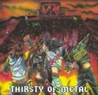 THE FORCE Thirsty of Metal album cover