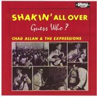 THE GUESS WHO Shakin' All Over (as Chad Allan & The Expressions) album cover