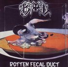 THE GUNS Rotten Fecal Duct album cover