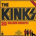 THE KINKS 20 Golden Greats album cover