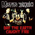 THE MISFITS Day The Earth Caught Fire album cover