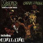 THE MISFITS Earth A.D. / Wolfs Blood + Evil-Live album cover
