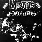 THE MISFITS Evilive album cover