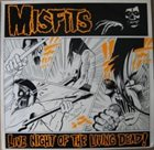 THE MISFITS Live Of The Living Dead album cover