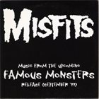 THE MISFITS Music From The Upcoming Famous Monsters Release (September '99) album cover