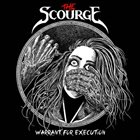 THE SCOURGE Warrant For Execution album cover