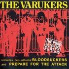 THE VARUKERS Bloodsuckers / Prepare For The Attack album cover