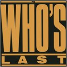 THE WHO Who's Last album cover