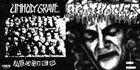 UNHOLY GRAVE Agonies / No Gain - Just Pain album cover