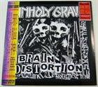 UNHOLY GRAVE Brain Distortion album cover