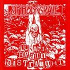 UNHOLY GRAVE Lunatic Brain Distraught - Funsai Jihen album cover