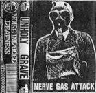 UNHOLY GRAVE Nerve Gas Attack album cover