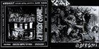 UNHOLY GRAVE Nie Vergessen / Agresori album cover