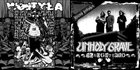 UNHOLY GRAVE Slaughtered / Crime Scene album cover