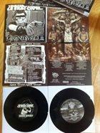 UNHOLY GRAVE Unholy Grave / Internal Damage album cover