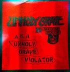UNHOLY GRAVE Unholy Grave Violator album cover