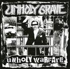 UNHOLY GRAVE Unholy Warfare album cover