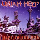 URIAH HEEP Live In The USA album cover