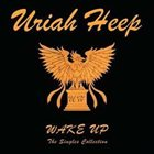 URIAH HEEP Wake Up: The Singles Collection (Italy) album cover
