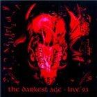 VADER The Darkest Age - Live '93 album cover