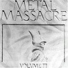 VARIOUS ARTISTS (GENERAL) Metal Massacre III album cover