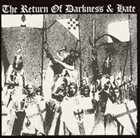 VARIOUS ARTISTS (GENERAL) The Return of Darkness & Hate album cover