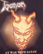 VENOM At War with Satan album cover