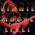 VINNIE MOORE Live! album cover