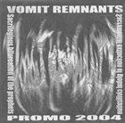 VOMIT REMNANTS Promo 2004 album cover