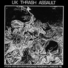 WAR DANCE UK Thrash Attack album cover
