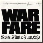 WARFARE Noise, Filth and Fury album cover