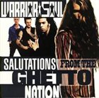 WARRIOR SOUL Salutations From The Ghetto Nation album cover