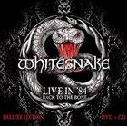 WHITESNAKE Live In '84: Back To The Bone album cover
