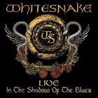 WHITESNAKE Live: In The Shadow Of The Blues album cover