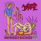 WHORE Unfinished Business album cover