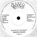 WIKKYD VIKKER Black of the Night album cover