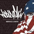 WORLD OF PAIN Improvise & Survive album cover
