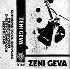 ZENI GEVA Distorted Live album cover