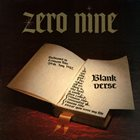 ZERO NINE Blank Verse album cover
