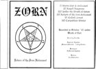 ZORN (BY) Return Of The Iron Holocaust album cover