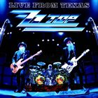 ZZ TOP Live From Texas album cover