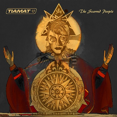 TIAMAT - The Scarred People cover