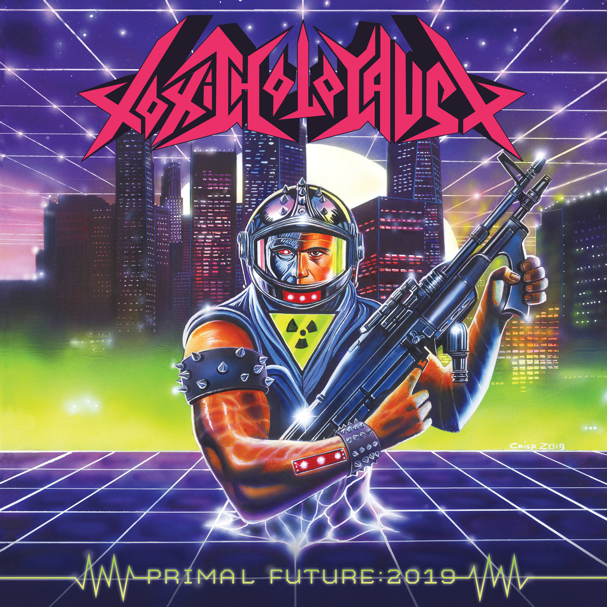 TOXIC HOLOCAUST - Primal Future: 2019 cover