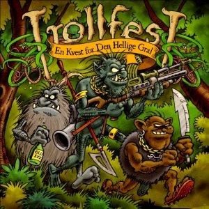 TROLLFEST - En Kvest For Den Hellige Gral cover